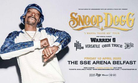Snoop Dogg Belfast Desktop Banner