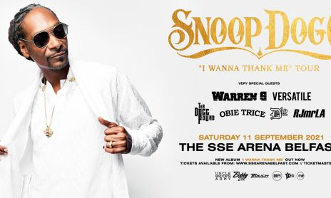 Snoop Dogg Banner Belfast