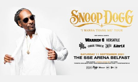 Snoop Dogg Banner Belfast web